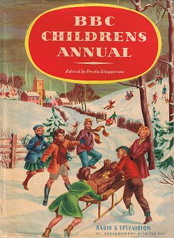 BBC Children's Annual 1956 � Burke by arrangement with the BBC 1955