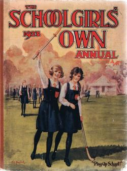 """Mystery Mansion"" by Hilda Richards, The Schoolgirls' Own Annual 1923 � Amalgamated Press 1922. Click to download"